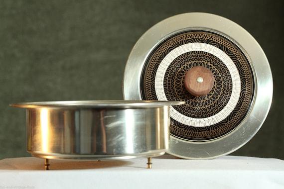 Vintage mid century durabrass frederick buehner wanner food for Cuisine wanner