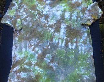 Men's 2X-Large Tie-Dyed T-Shirt