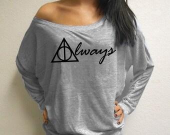 Always Harry Potter Parody Women's Long Sleeves Shirt
