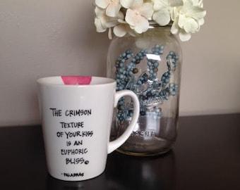 Poem on a mug