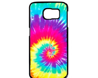 Tie Dye Case Cover for Samsung Galaxy S7 S6 Edge Plus S5 S4 S3 Note 7 5 4 3 2 iPod touch 4 5 6 case Cover Tye Dye Spiral Hipster