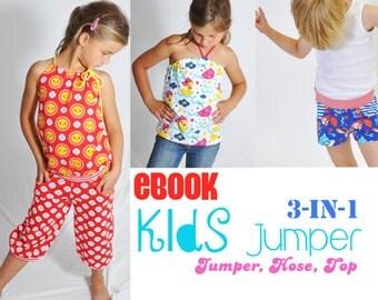 eBOOK # 66 kids jumper 3-in-1 50/56-158/164 - only in german language