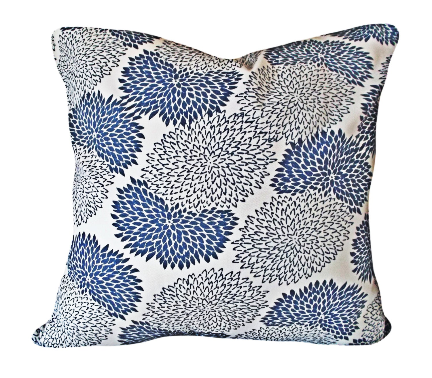 Queen Throw Pillows : China Seas Chrysanthemum Throw Pillow Cover Quadrille