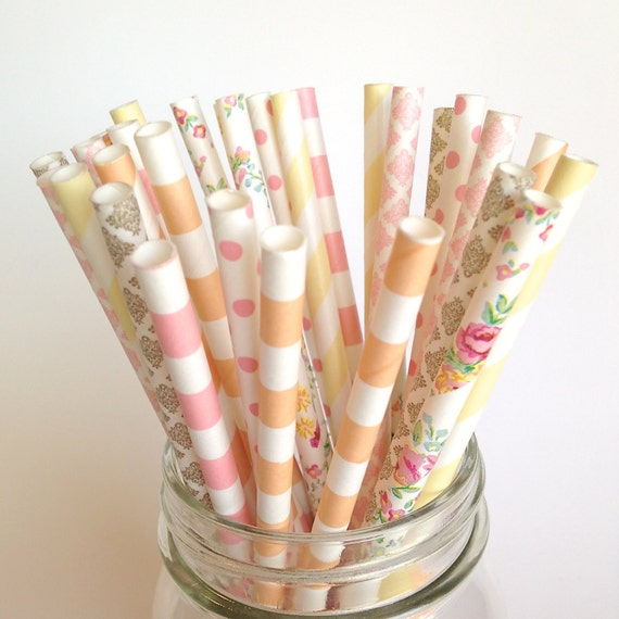 decorative straws for weddings rustic wedding straws rustic baby shower burlap and lace 3463