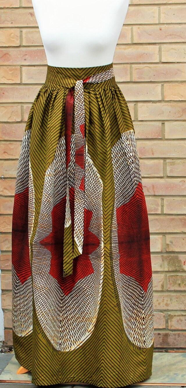 african print high waist skirt ankara print skirt by abrefifashion. Black Bedroom Furniture Sets. Home Design Ideas