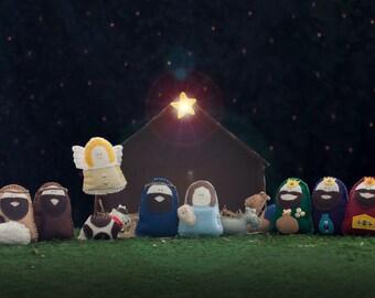 Felt Nativity Patterns