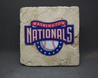 Washington Nationals Coaster (4-Pack)