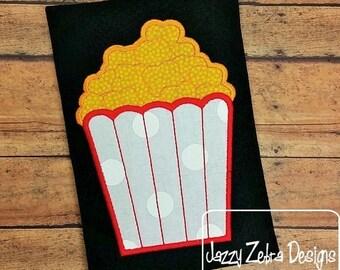 Popcorn Applique Design