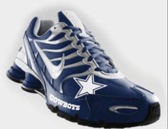 Mens Size  Nike Dallas Cowboys Shoes