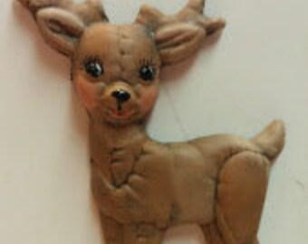 Standing Reindeer Magnet