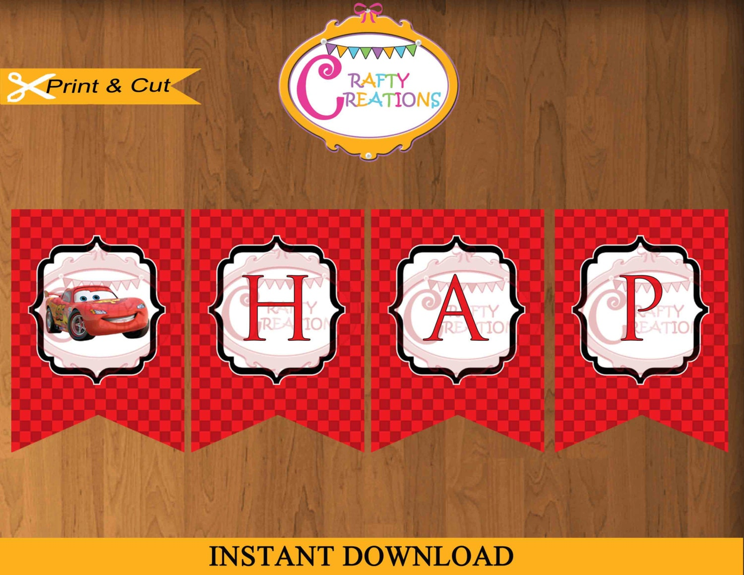 disney cars birthday instant disney cars birthday banner printable happy birthday cars banner party decoration disney printable craftycreationsuae