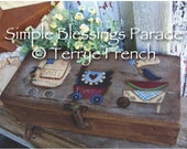Simple Prim Blessings Parade - by Terrye French, E-Pattern