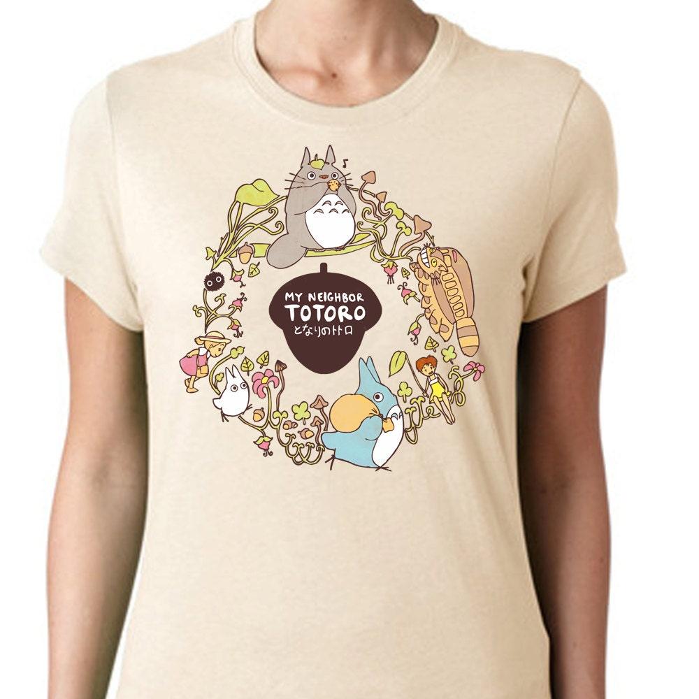 CUSTOM My Neighbor Totoro T-shirt Studio Ghibli by ...