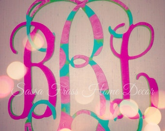 Lilly Pulitzer First Impressions 3 letter hanging monogram