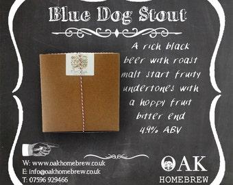 Blue Dog  beer kit