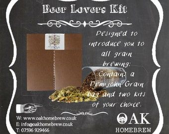 Do it yourself beer Lovers Kit