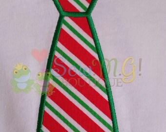Boys Tie Applique Shirt
