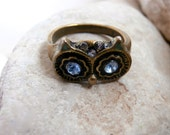 Owls Eyes Ring - Vintage