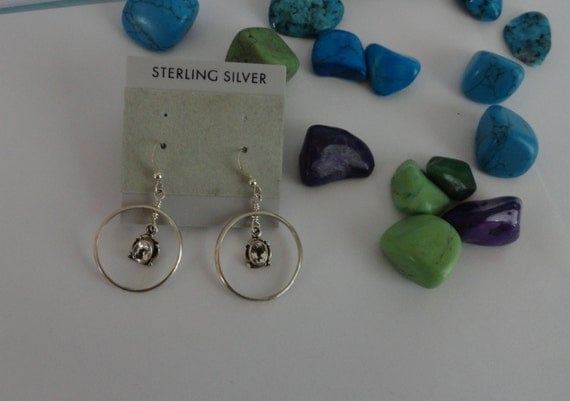 sterling silver, silver, 925 sterling silver, hoop earrings, gem, dangle earrings, silver wire, hoop earring, weddings, anniversary, gift