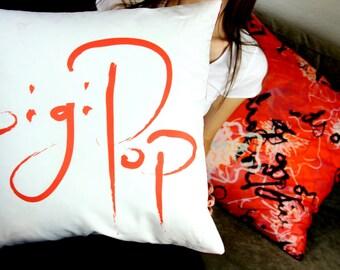 Gigi Pop Signature pillow