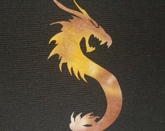 Easy Dragon 6 Quilt Applique Pattern Design