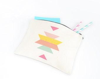 Ethnic pouch - zipper pouch