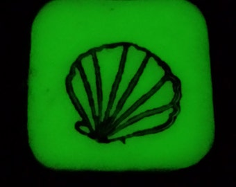 Glow In The Dark Sea Shell Pendant