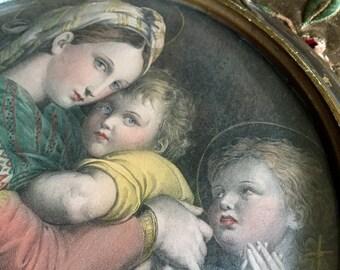 Beautiful vintage Italian print
