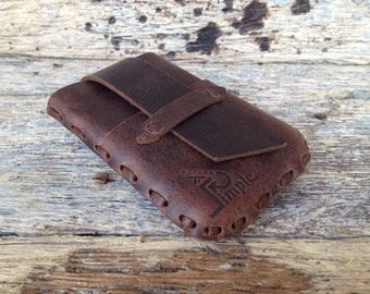 Leather Card Holder, Leather Card Wallet, Card Wallet, Mens Card wallet, Front Pocket, 15 Cards, Rustic, Slim, Money Card Wallet (CH15C2)