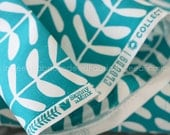 15% Off // CANVAS Vines Teal, Yoyogi Park, Cloud 9 Fabrics, Certified Organic Cotton Canvas