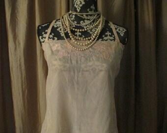 Vintage 1920's Silk Teddy