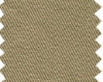 Tan Sand Beige Cotton Chino Twill Upholstery Fabric for Slipcovers, Cushions and Pillows