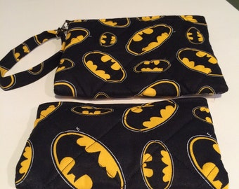 "Batman ""emblem"" coin purse/wristlet"
