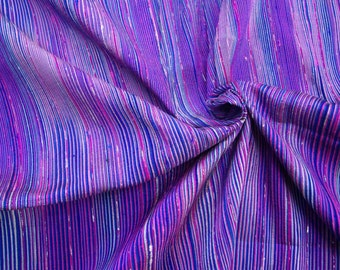 Handwoven 100% Thai silk. Shades of pink 1 yd/90cm