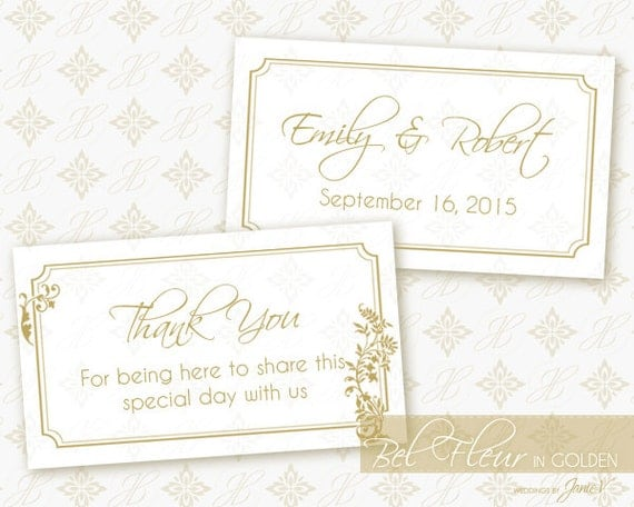 Diy Printable Wedding Favor Tags : Printable Favor Tag Wedding Template DIY Favor Tag Printable ...