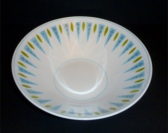 "Mikasa Cera-Stone Blue Point 8"" serving bowl"