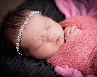Rhinestone Headband Newborn Baby Girl