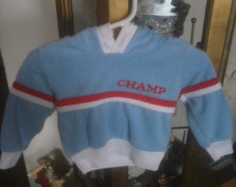 Champ baby sweater