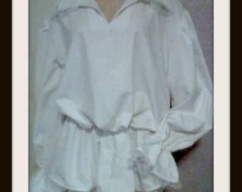 WOMEN'S RENAISSANCE POET -Pirate Shirt-Dress