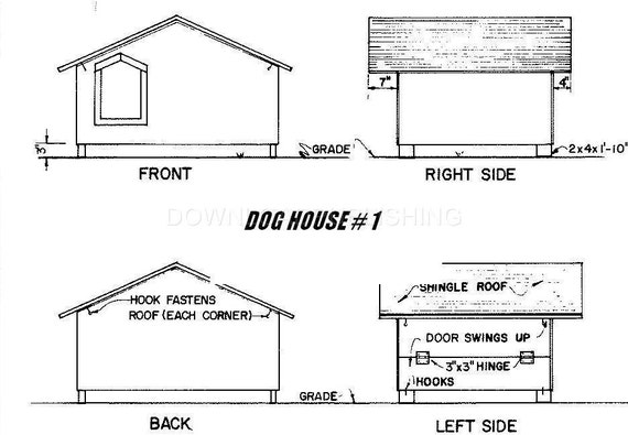 Small Dog House Plans Free