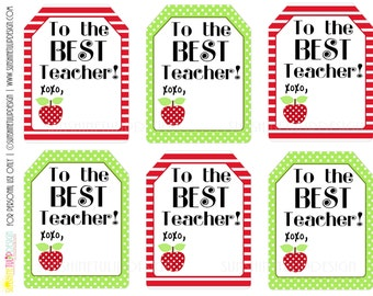 Printable Teacher Appreciation Welcome Back To School Gift