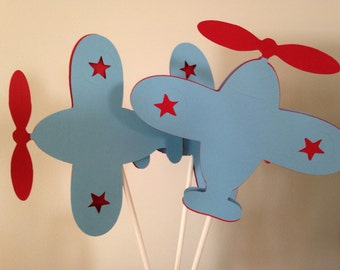 Airplane baby shower package/ Airplane baby shower banner/ airplane door sign