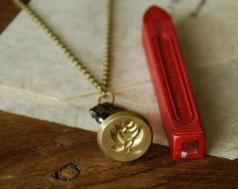 Necklace Wax Seal Stamp--Wax Seal Stamp - Wax Seal -- 4 Styles to choose
