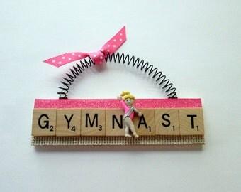 Gymnast Gymnastics Ornaments