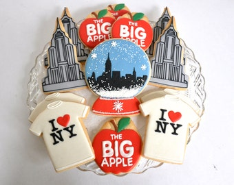 I Love New York Cookie Collection