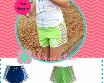 On Sale Monogram Shorts for Adults With FREE Monogramming