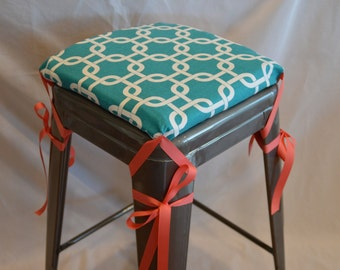 Charming Barstool Cushion Cover, Seat Cushion Cover, Counterstool Cover, Industral Stool  Seat Cover,