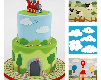 FMM Fluffy Cloud Sugarcraft / Cookie Cutters Cake Decorating New Product