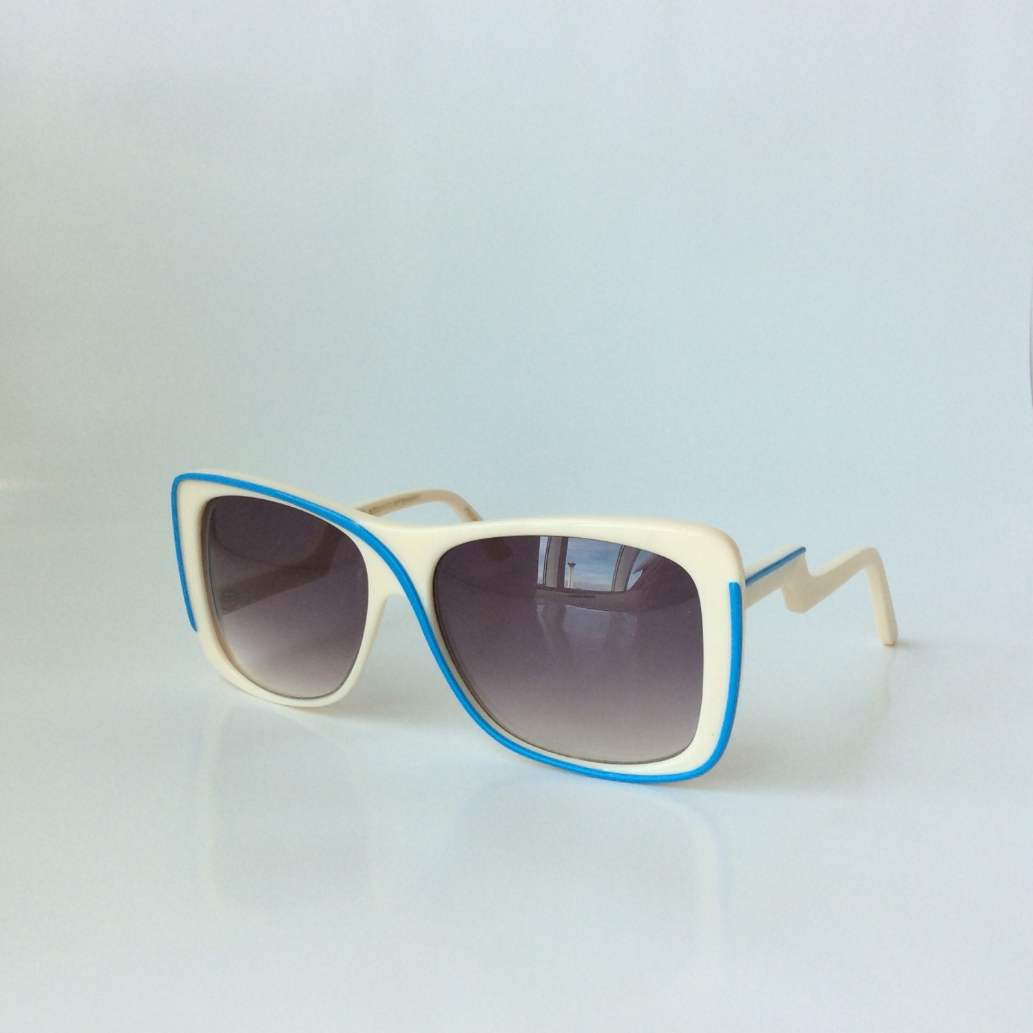 Vintage 70s style sunglasses by Ultra Eyewear Ivory by ...