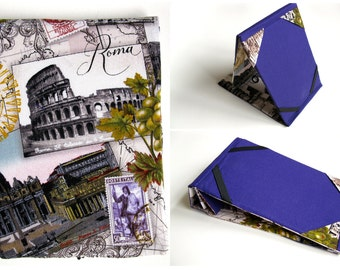 Kindle Paperwhite Cover, Kindle Voyage Case, Kindle Cover Hardcover Stand, Kindle Fire Case,  Nook Glowlight,  Purple Rome, Italy